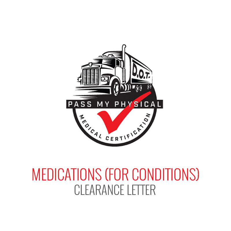 Medication & Condition Medical Clearance Letter
